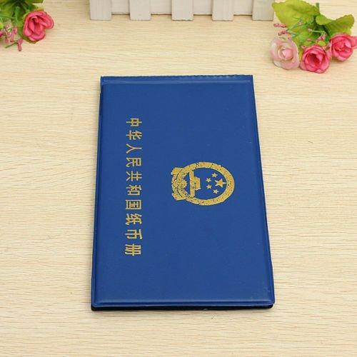 Generic papel billetes Collection bolsillos de almacenamiento álbum libro recopilación para 40piezas < 1& 3025* 1>