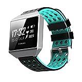 teepao Fitness Activity Tracker Armbanduhr, große 3,3cm OLED-Bildschirm Armband mit Herzfrequenz Monitor, Blutdruck, Zählen, Kalorien Schrittzähler Wasserdicht IP67Smartwatch für Android iOS Handys blau