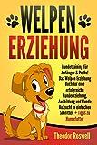 Welpenerziehung: Hundetraining für Anfänger & Profis! Das Welpen Erziehung Buch für eine erfolgreiche...