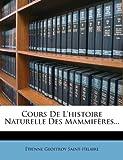 Image de Cours de L'Histoire Naturelle Des Mammiferes...