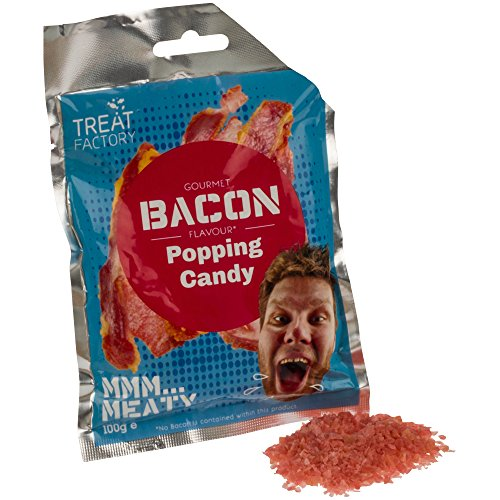 Bonbons pétillants « Popping Candy » - goût bacon - 100 g