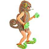 Disfraces Nines - Disfraz de camaleón hombre adulto