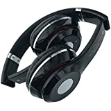 JOKIN Nokia Design Compatible Wireless Bluetooth Headphone With FM SD Card Slot/with Music And Calling Controls (Black)