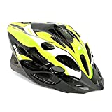 #3: Kamachi Cycling/Skating Head Protector Helmet ((Fluorescent Green/White (M))