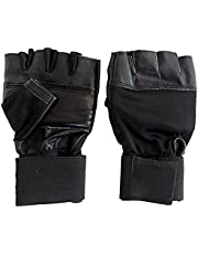 Neulife Gym & Fitness Gloves (Free Size, Black)