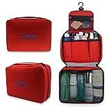 Refoss Borsa da toilette Beauty Case Borsetta da Viaggio Wash bag Organizzare borsa Impermeabile Borsa per cosmetici per il campeggio, viaggio, famiglia