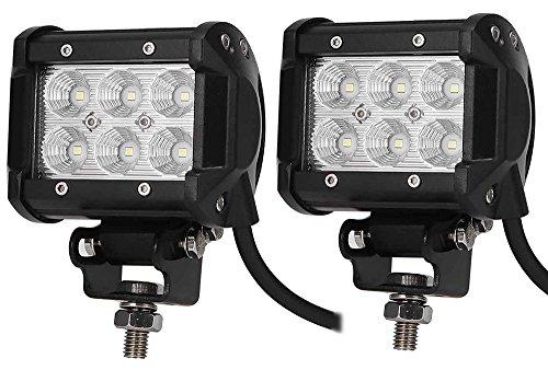 WOW - 18W lED phare de travail feux spot light bar offroad aTV 4 x