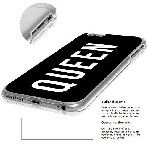 Motif Serie 2 Coque Pour Iphone - Bleu Marine Bois, Iphone 6 Plus / 6S plus Queen