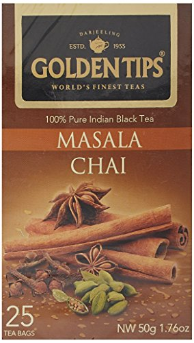 Golden Tips Masala Chai, 50g  available at amazon for Rs.106