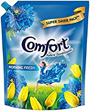 Comfort After Wash Fabric Conditioner Pouch (Fabric Softener) - For Softness, Shine And Long Lasting Freshness