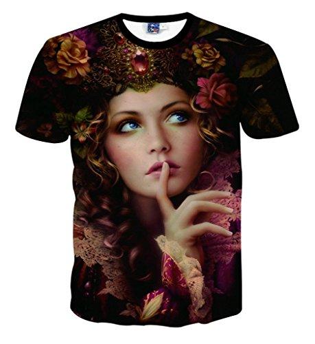 pizoff-unisex-sommer-leicht-bunt-bequem-cool-digital-print-t-shirts-mit-madchen-blumen-diamond-3d-mu