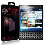 Ycloud Protector de Pantalla para Blackberry Passport Cristal Vidrio Templado Premium [9H Dureza][Alta Definicion]