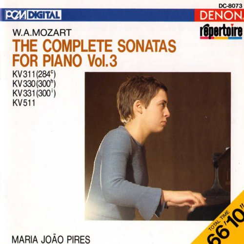 Mozart: The Complete Sonatas for Piano, Vol. 3