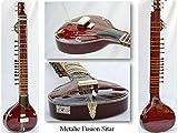 sitar métallique Fusion avec housse de rangement Coque Gsm015g
