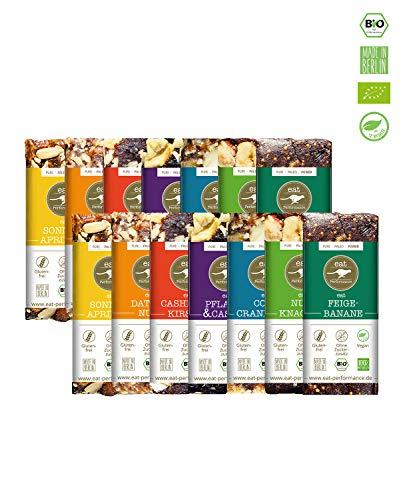 eat Performance® Big Box Energie Riegel (14x 40g) - Bio, Paleo, Vegan Aus 100{a6b028ea008d3c3814c7a1216c04ede458bd641aea3f6e74c086f06f5f419ee2} Natürlichen Zutaten
