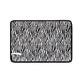 Pad per incontinenza,imbottito traspirante portatile in cotone impermeabile