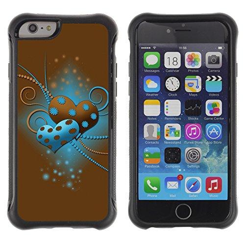 Graphic4You Beautiful Love Design Shockproof Anti-Rutsch Weichen Hülle Case Tasche Schutzhülle für Apple iPhone 6 Plus / 6S Plus Design #15