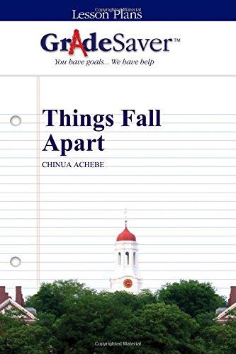 GradeSaver (TM) Lesson Plans: Things Fall Apart