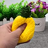 Toamen 2018 Newest Slow Creative Toy Gifts, 12CM Exquisite Fun Simulation Pineapple Scented Squishy Charm Slow Rising Simulation Kid Toy Key Cell Phone Pendant Strap