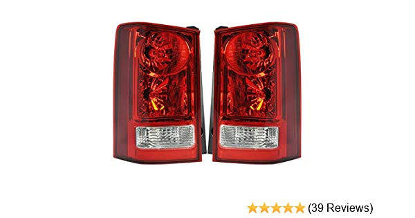 Includes Bulbs Passenger Side Tail Light Assembly For 2009-2015 Honda Pilot HO2801174