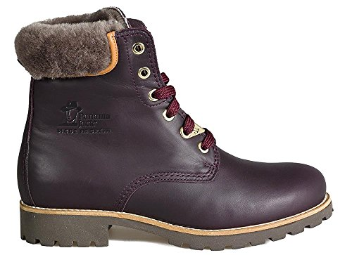 PANAMA JACK Damen Winterstiefel Panama 03 Igloo Travelling,Frauen Winter-Boots,Fellboots,Lammfellstiefel,Fellstiefel,gefüttert,Warm,Zusätzlicher Baumwollbeutel Enthalten,Bordeaux,EU 38