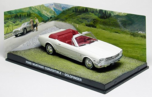 007 James Bond Car Collection #35 Ford Mustang convertible (Goldfinger)