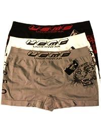 Boxershorts 3 Boxer Shorts Unterhose drei Stück Unterhosen