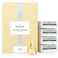 Tea Forte BULK PACK Oasis Green Tea, 48 Handcrafted Pyramid Tea Infusers