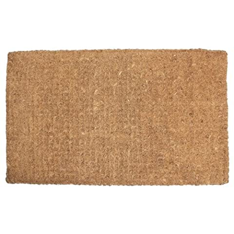 J & M Home Fashions Plain Imperial Coco Doormat, 30-Inch by 48-Inch