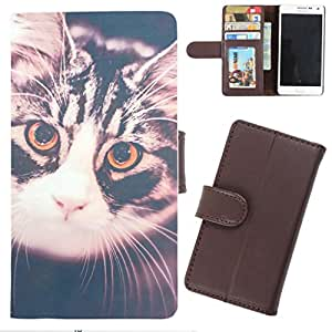 DooDa - For Lenovo A369i PU Leather Designer Fashionable Fancy Wallet Flip Case Cover Pouch With Card, ID & Cash Slots And Smooth Inner Velvet With Strong Magnetic Lock