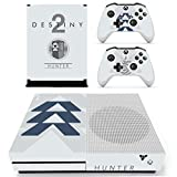XBox One Slim + 2 Controller Aufkleber Schutzfolien Set - Destiny 2 Jäger /One S
