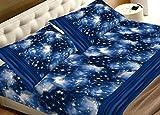 COINGROSTEX Bettwäsche aus 100% Baumwolle Fantasie Universum Matrimoniale Gold