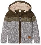 ESPRIT KIDS Jungen Strickjacke RK18074, Grau (Mid Heather Grey 260), (Herstellergröße: 128)
