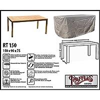 RT150 Schutzhülle Für Rechteckige Gartentisch, Passt Am Besten Am Tisch Von  Max. 150 X