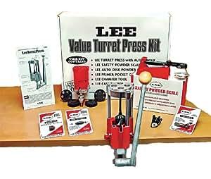 Lee Deluxe Turret Press Reloading Kit: Amazon.co.uk