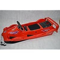 Bob für Zwei Double Race Rot 114 x 55 x 28 cm Zweisitzer Schnee Schlitten Neuware in OVP