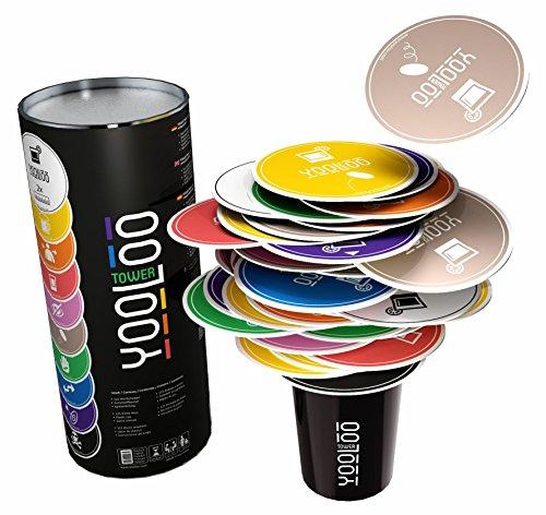 YOOLOO Tower - Das neue Trinkspiel für Erwachsene ab 18 Jahren – 2 bis 10 Personen – Neuartiges Spielprinzip – NEUHEIT 2017