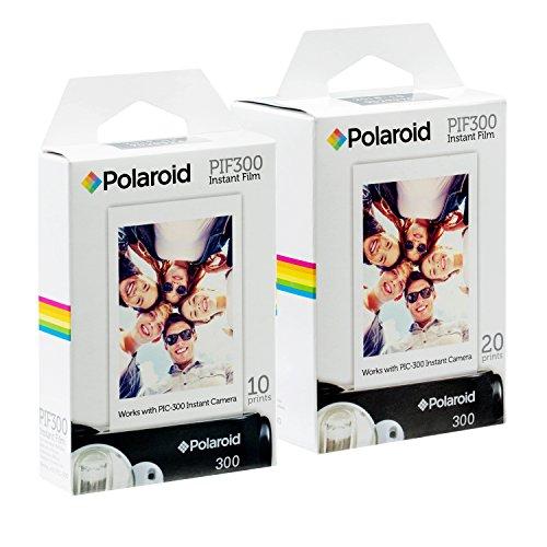 Polaroid PIF300 Instant Film - Entwickelt für die Nutzung mit den Kameras Fujifilm Instax Mini und PIC 300 (30 Blatts)