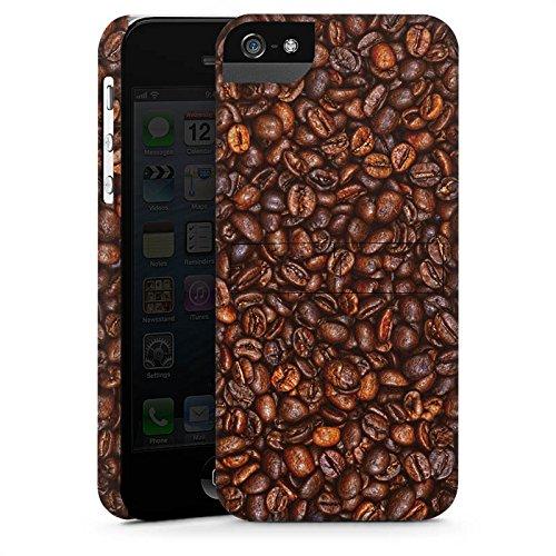 Apple iPhone X Silikon Hülle Case Schutzhülle Kaffee Bohnen Coffee Premium Case StandUp