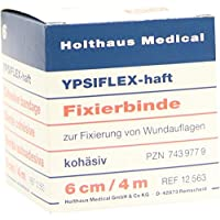YPSIFLEX Haft Fixierb.6 cmx4 m 1 St Binden preisvergleich bei billige-tabletten.eu