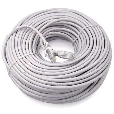 TRIXES 30m Network CAT5e RJ45 Ethernet LAN Cable Patch