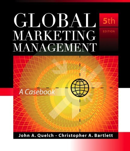 Global Marketing Management Pdf