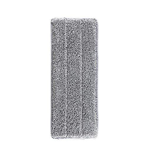 ToDIDAF Ersatz-Mop-Pad aus Mikrofaser, waschbar, Spray-Mop, Staubwischer, Haushaltswischer, Reinigungs-Pad, 33 x 12 mm Gray 1 -