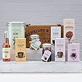 Produkt-Bild: Cartwright & Buttler Geschenkekorb , Bishopdale Hamper , Presentkorb gefüllt mit feinstem Toffees , Gebäck ,Süßen Genüssen aus England