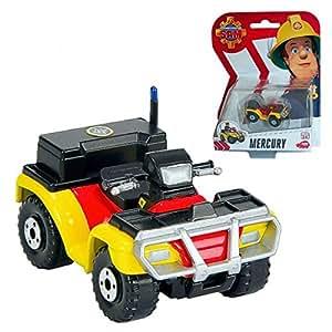 Sam Le Pompier - Fireman Sam - The Cast Mini Série - Véhicule SUV Quad Mercury