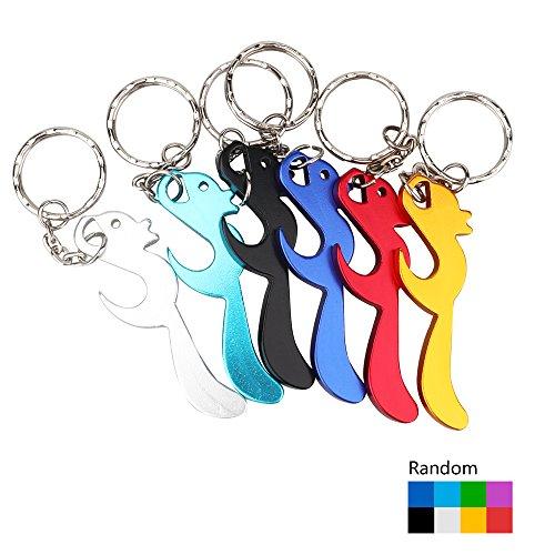 r Flaschenöffner Schlüsselanhänger Tier Mini Flaschenöffner Schlüssel Sammler EDC Pocket Schlüsselanhänger lustiges Geschenk (Eichhörnchen) ()