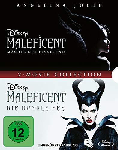 Maleficent - Die dunkle Fee/Mächte der Finsternis [Blu-ray]