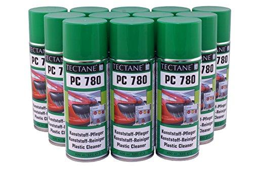 € 5,92/L Tectane Kunststoffpfleger Spray PC780 12x 400ml