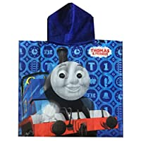 Jujak Thomas and Friends Poncho Hooded Towel (55 x 110cm, Design 1)
