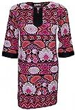 Attuendo Women's Floral Print Stretch Tu...